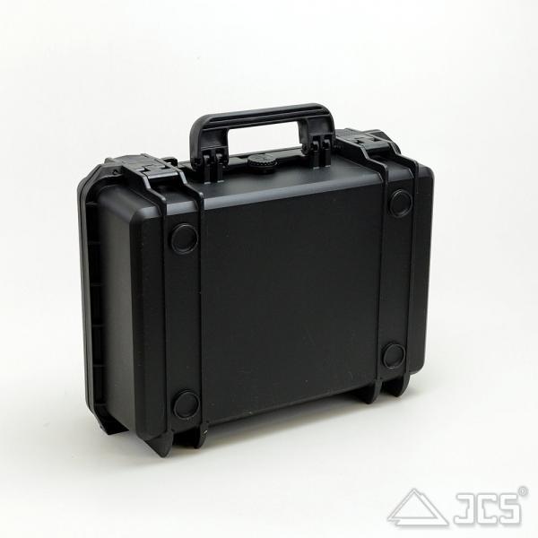 Outdoor Okular-Koffer 43, schwarz, Würfelschaum, Innen 43 x 29 x 16 cm