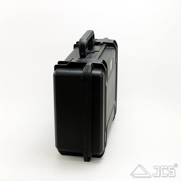 Outdoor Okular-Koffer 43, schwarz, Trennwandset, Innen 43 x 29 x 16 cm - idealer Okularkoffer