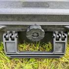 Outdoor-Koffer 80, schwarz, leer Innen 80 x 37 x 13 cm