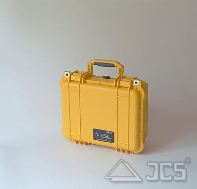 PELI Protector 1400 gelb, leer leer, Innenmaß ca. 305x230x132mm