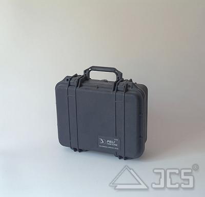 PELI Protector 1400 schwarz WS mit Schaumstoff, Innen ca. 305x230x132mm