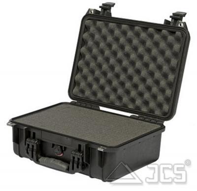 PELI Protector 1450 silber WS mit Schaumstoff, Innen ca. 376x263x152mm