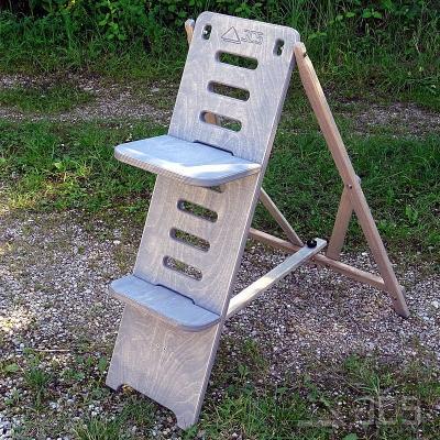 ICS Astro-Stuhl Standard, grau Höhe 90 cm, Beobachterstuhl