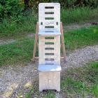 ICS Astro-Stuhl Magnum, grau Höhe 115 cm, Beobachterstuhl