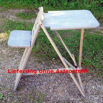 Tisch für ICS Astro-Stuhl, grau