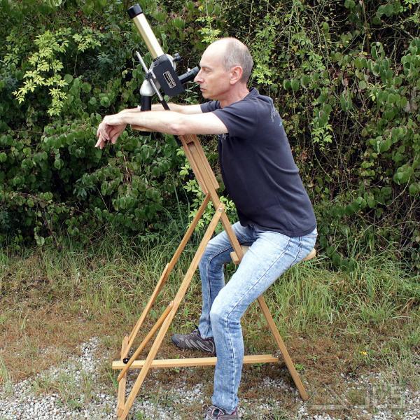 Multi-Montierungs-Aufsatz für ICS Astro-Stuhl, natur