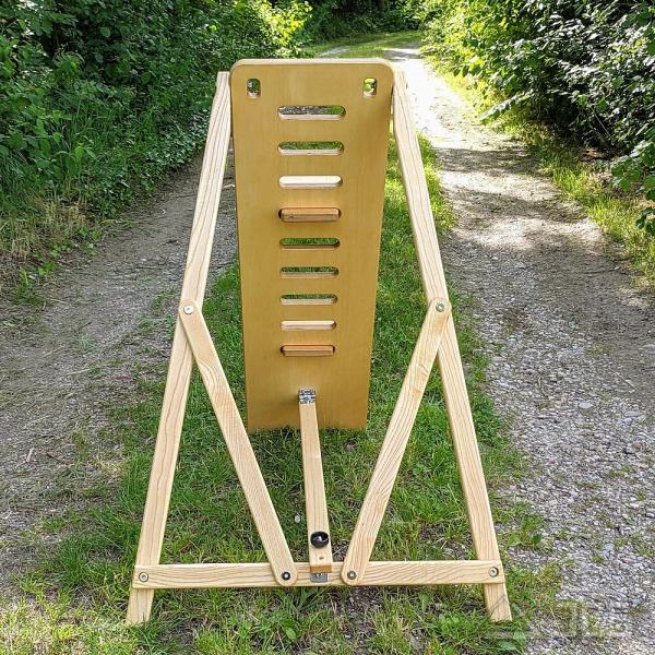 ICS Astro-Stuhl Magnum, natur Höhe 115 cm, Beobachterstuhl