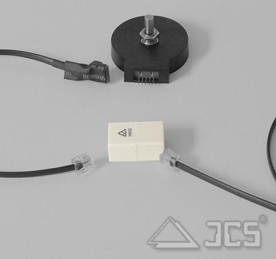 Wildcard Innovations Encoder-Anschlußkabel Inline an RJ11 mit Verbindungsbuchse beidseitig Western