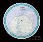 Drehbare Sternkarte Tycho C 70cm 50ND Farbig, 50 Grad Nord, Deutsch