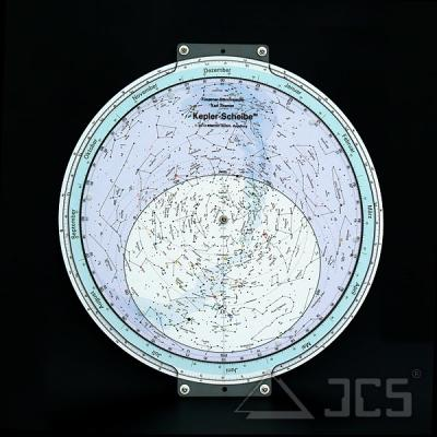 Drehbare Sternkarte Kepler 70 cm 50ND. 50 Grad Nord, Deutsch