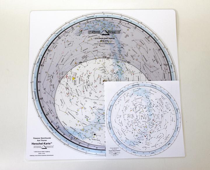 Drehbare Sternkarte Kopernikus 20cm 50ND 50 Grad Nord, Deutsch