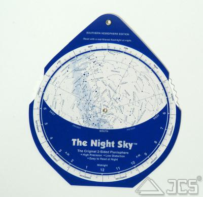 The Night Sky Planisphere 25-40° Süd (32,5° S)