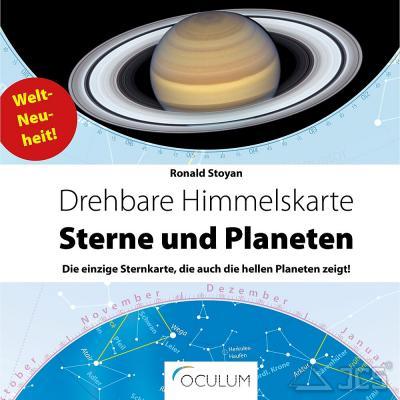 Drehbare Himmelskarte Sterne und Planeten Ronald Stoyan