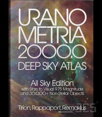 Uranometria 2000.0 All Sky Edition Tirion, Rappaport, Remaklus