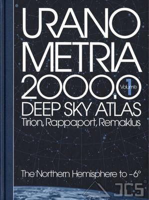 Uranometria 2000.0, Vol.1 Nord Tirion, Rappaport, Remaklus