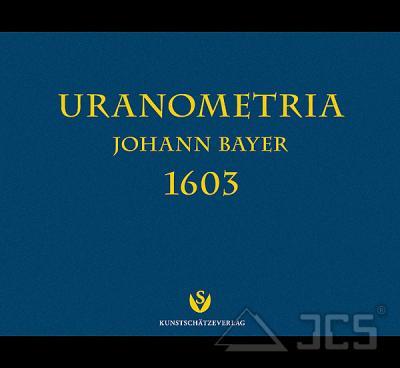 Kartenwerk Uranometria 1603 v. J. Bayer