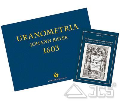 Uranometria 1603 v. Johann Bayer,2 Bände