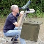 Anwendung des Multi-Montierungs-Aufsatzes für den Astrostuhl von ICS